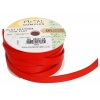 Flat Leather 10x2mm (5m Spool) Red
